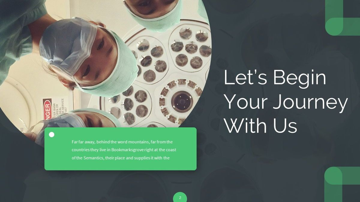 Ursla - Medical Powerpoint Template, Slide 3, 06245, Data Driven Diagrams and Charts — PoweredTemplate.com