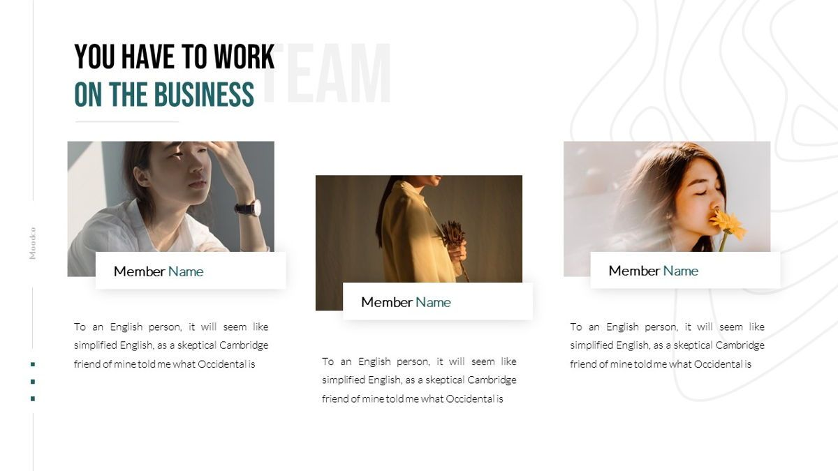 Moodco - Design Interior Powerpoint Template, Slide 15, 06246, Business Models — PoweredTemplate.com