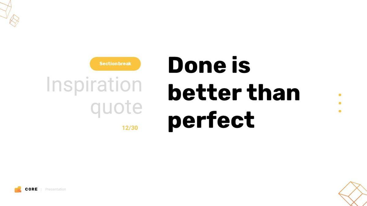 Core - Technology Powerpoint Template, Slide 13, 06247, Business Models — PoweredTemplate.com