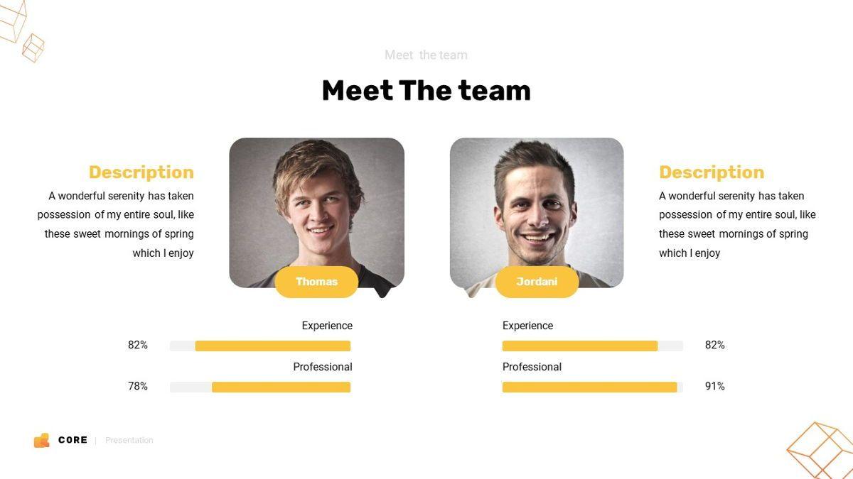 Core - Technology Powerpoint Template, Slide 16, 06247, Business Models — PoweredTemplate.com