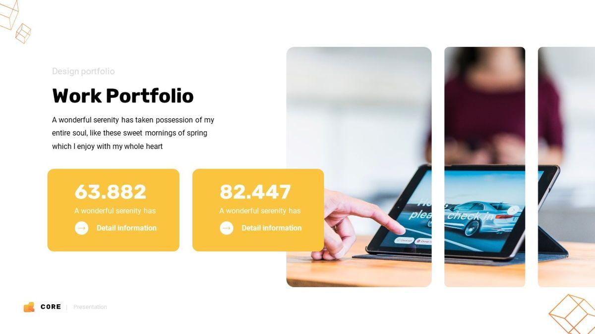 Core - Technology Powerpoint Template, Slide 17, 06247, Business Models — PoweredTemplate.com