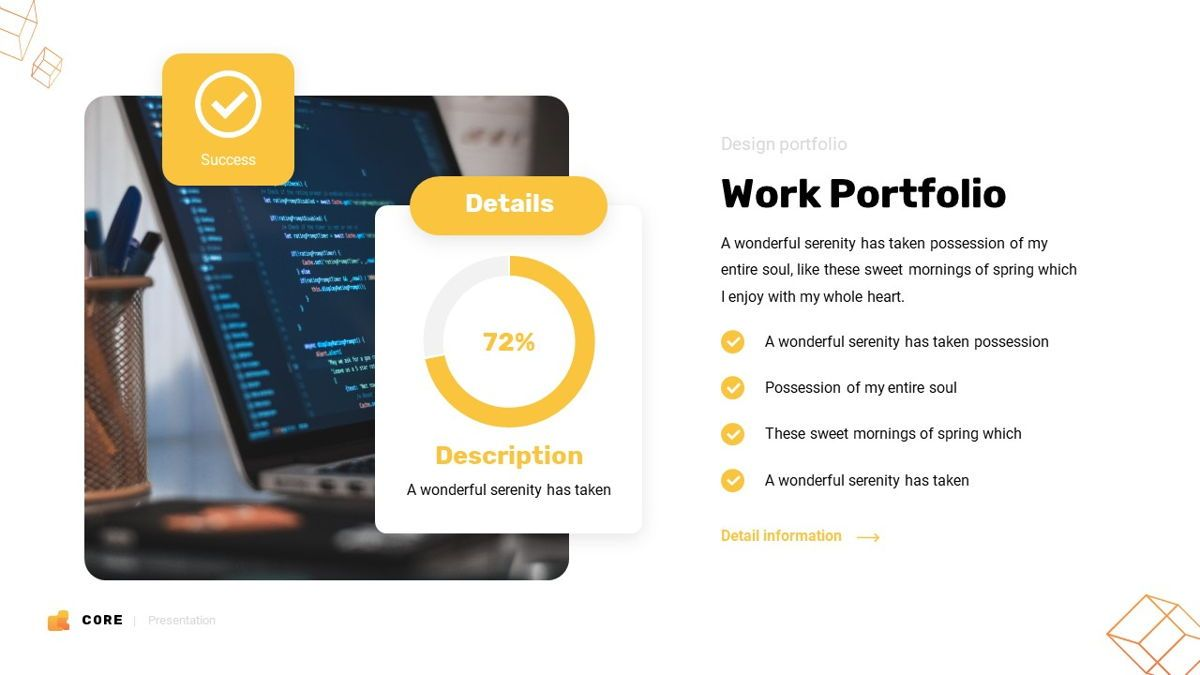 Core - Technology Powerpoint Template, Slide 18, 06247, Business Models — PoweredTemplate.com