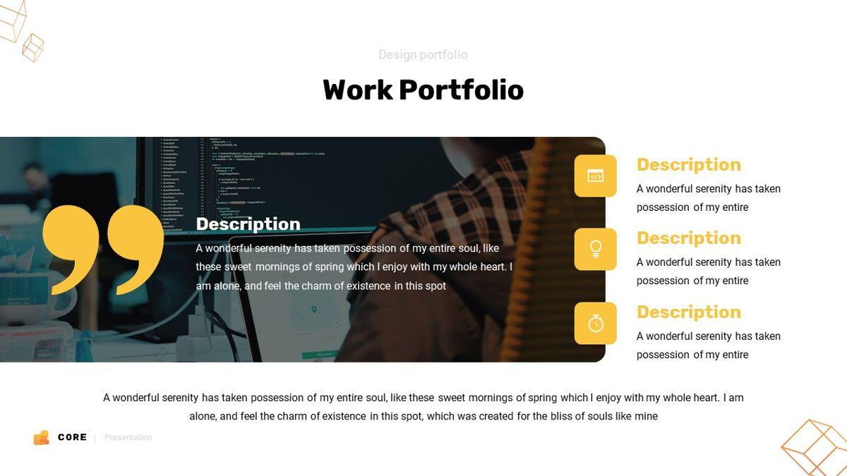 Core - Technology Powerpoint Template, Slide 19, 06247, Business Models — PoweredTemplate.com