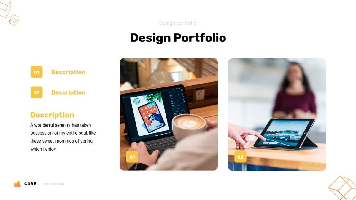 Core - Technology Powerpoint Template, Slide 20, 06247, Business Models — PoweredTemplate.com