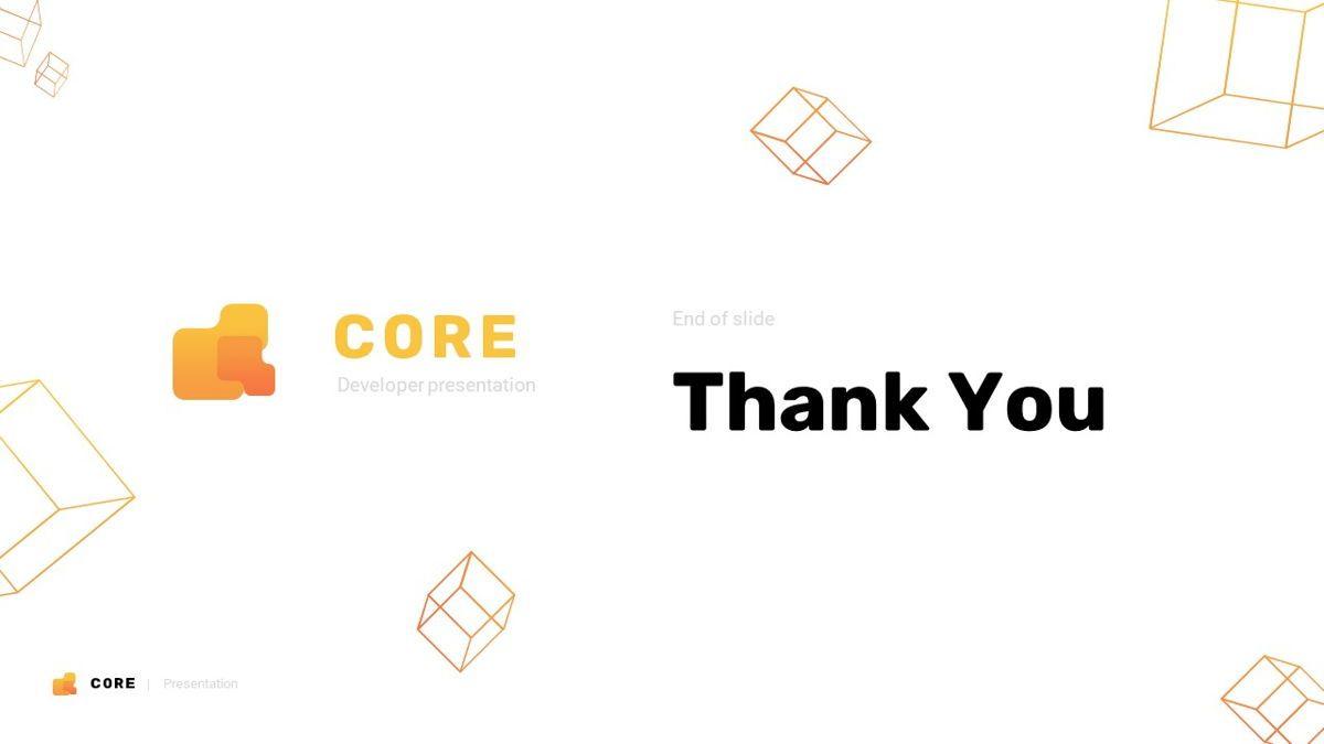 Core - Technology Powerpoint Template, Slide 31, 06247, Business Models — PoweredTemplate.com