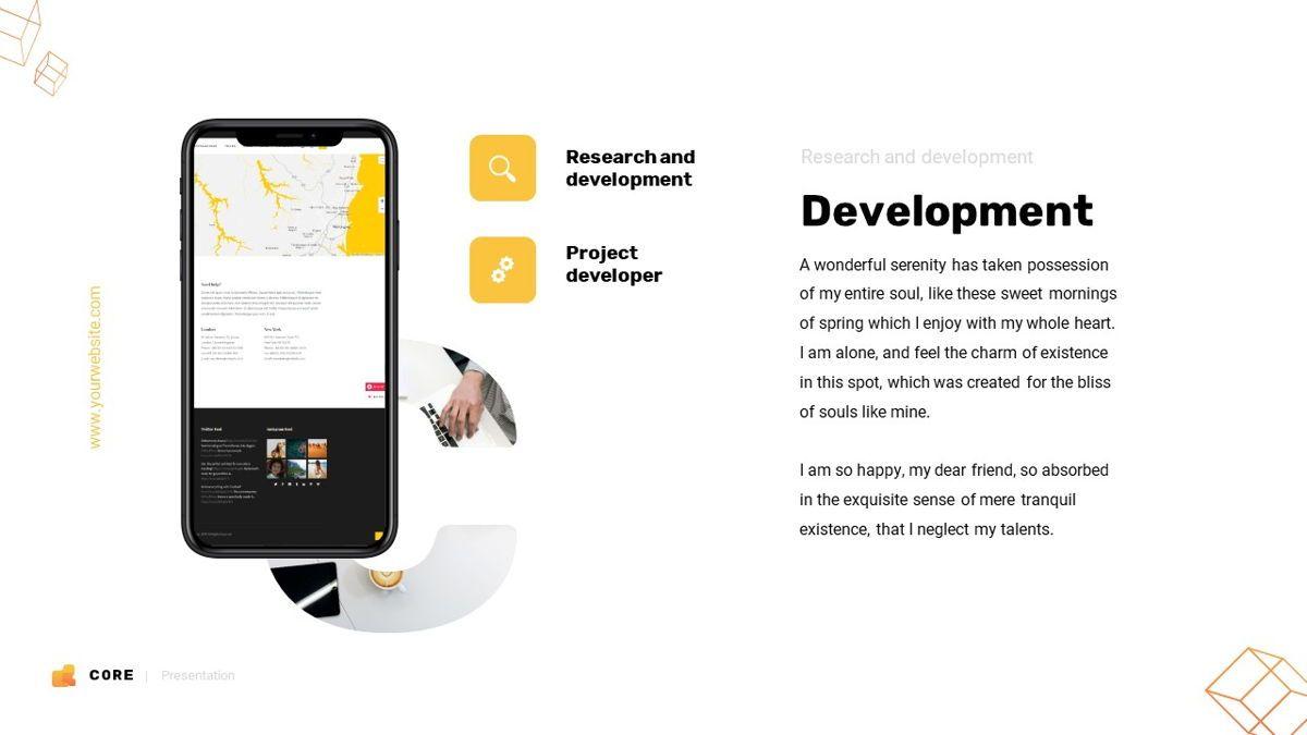 Core - Technology Powerpoint Template, Slide 6, 06247, Business Models — PoweredTemplate.com