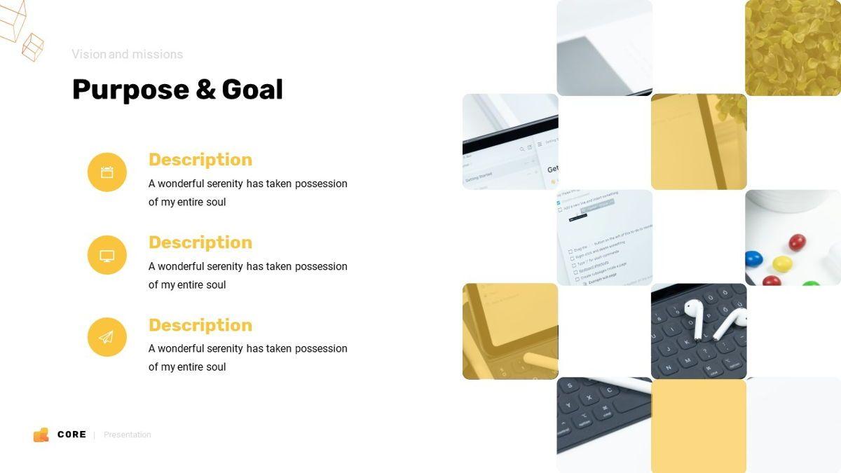 Core - Technology Powerpoint Template, Slide 7, 06247, Business Models — PoweredTemplate.com