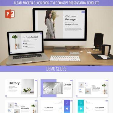 Infographics: Ecelia Powerpoint Template #06250