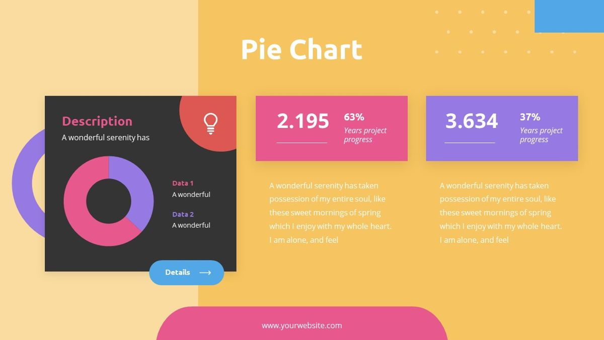 Caluta - Creative Powerpoint Template, Slide 24, 06251, Data Driven Diagrams and Charts — PoweredTemplate.com