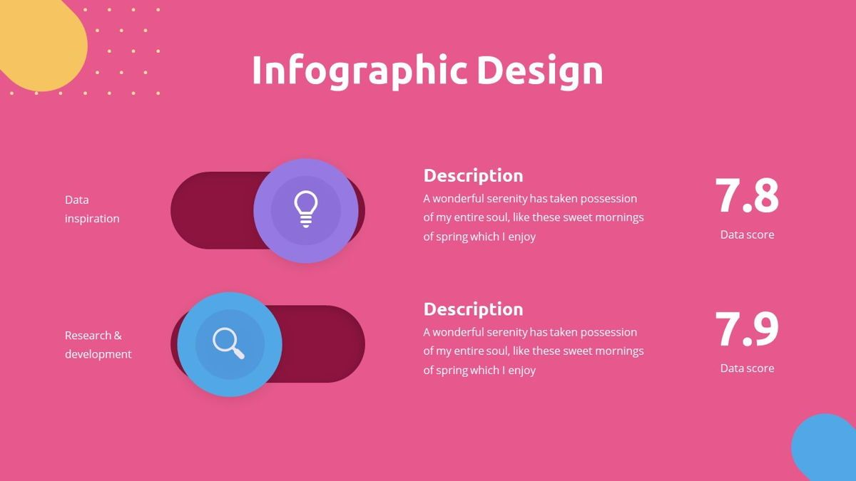 Caluta - Creative Powerpoint Template, Slide 25, 06251, Data Driven Diagrams and Charts — PoweredTemplate.com