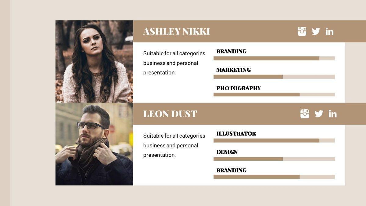 Alhambra - Lookbook Powerpoint Template, Slide 12, 06253, Business Models — PoweredTemplate.com