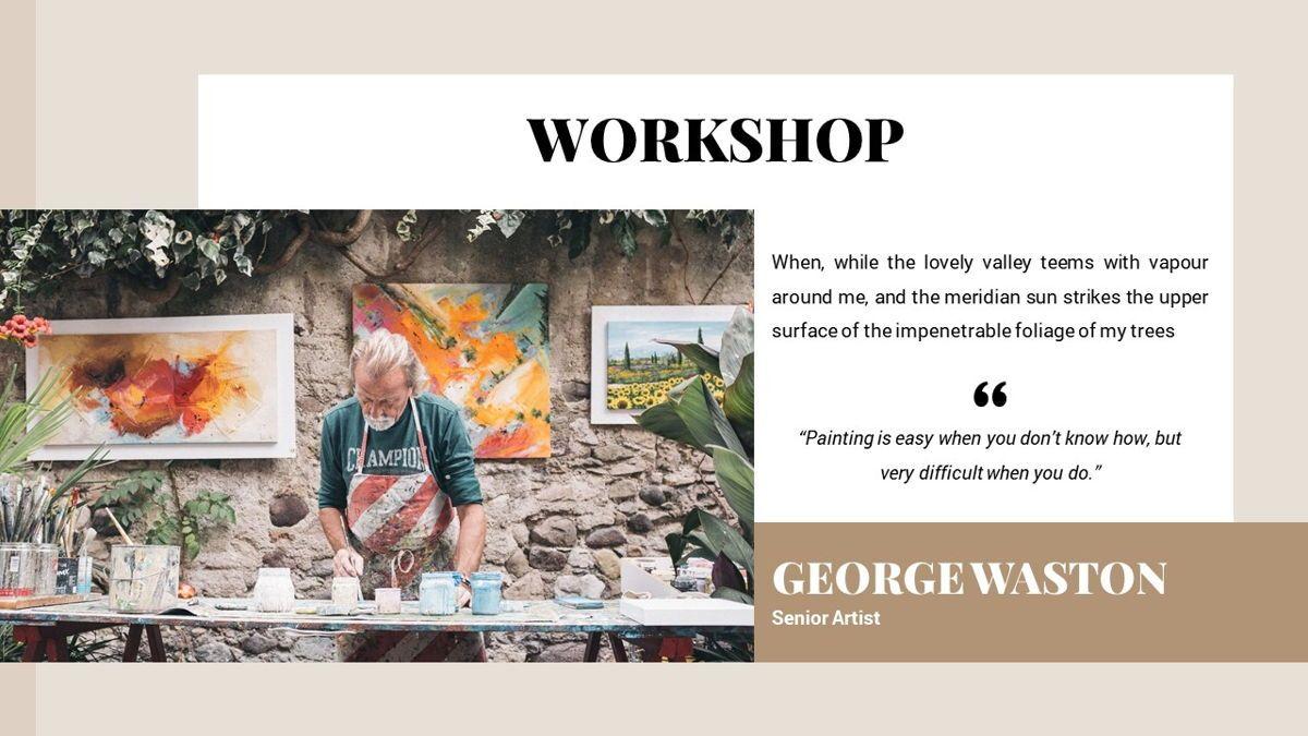Alhambra - Lookbook Powerpoint Template, Slide 18, 06253, Business Models — PoweredTemplate.com