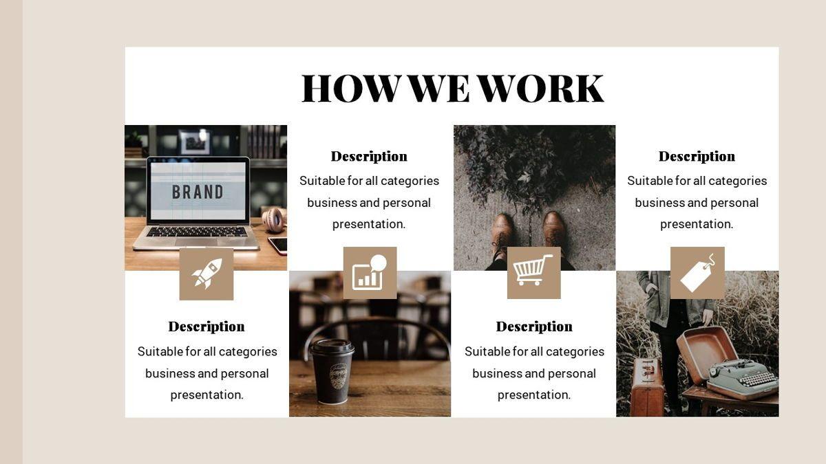 Alhambra - Lookbook Powerpoint Template, Slide 22, 06253, Business Models — PoweredTemplate.com