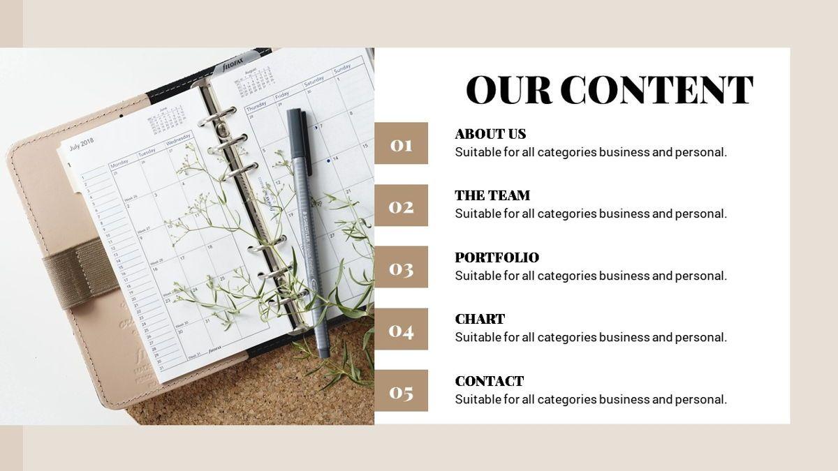 Alhambra - Lookbook Powerpoint Template, Slide 3, 06253, Business Models — PoweredTemplate.com