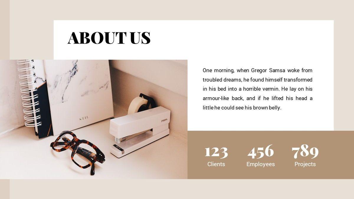 Alhambra - Lookbook Powerpoint Template, Slide 5, 06253, Business Models — PoweredTemplate.com