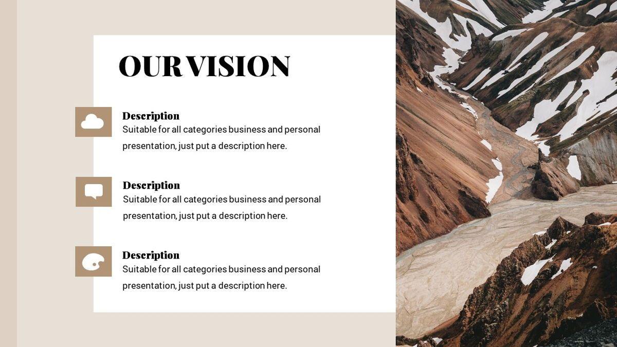 Alhambra - Lookbook Powerpoint Template, Slide 6, 06253, Business Models — PoweredTemplate.com