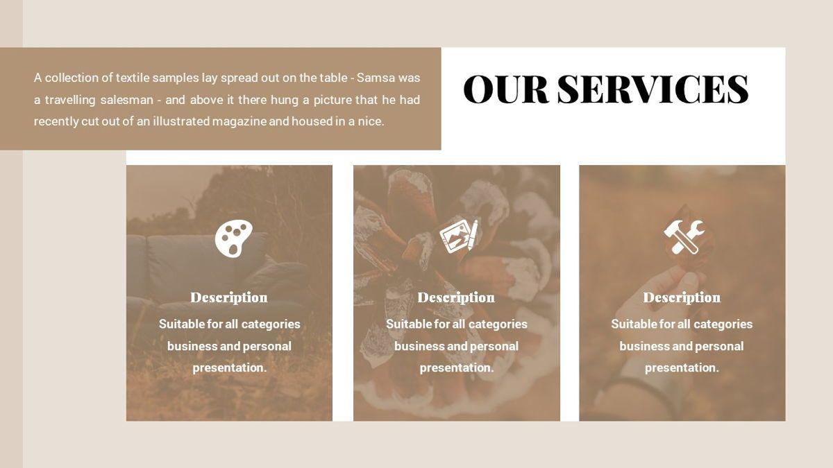 Alhambra - Lookbook Powerpoint Template, Slide 8, 06253, Business Models — PoweredTemplate.com