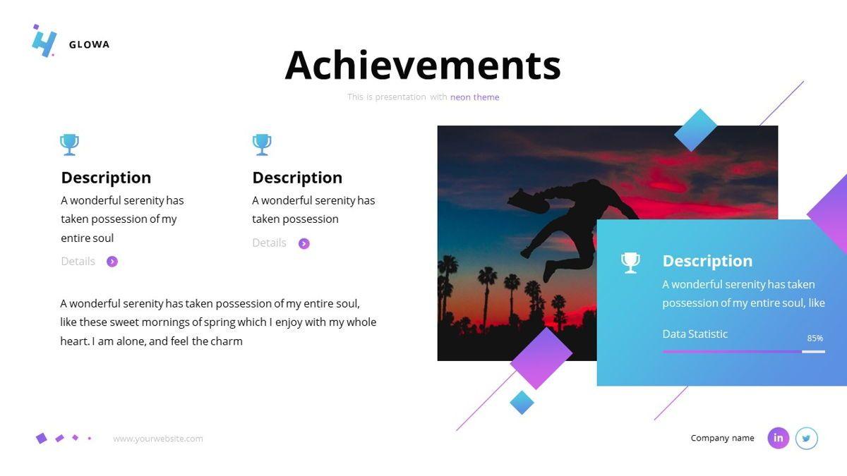 Glowa - Technology Powerpoint Template, Slide 12, 06254, Business Models — PoweredTemplate.com