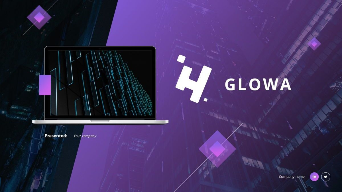 Glowa - Technology Powerpoint Template, Slide 2, 06254, Business Models — PoweredTemplate.com