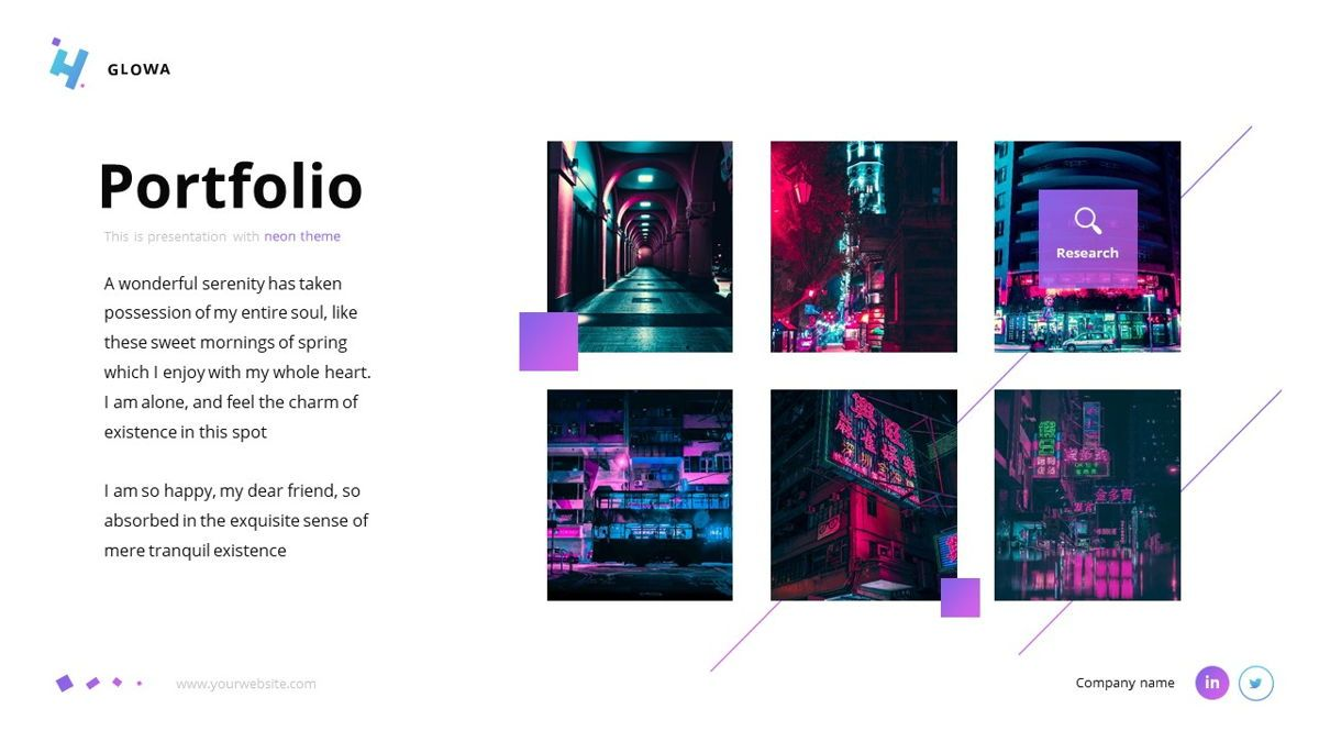 Glowa - Technology Powerpoint Template, Slide 20, 06254, Business Models — PoweredTemplate.com