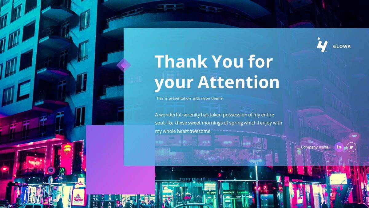 Glowa - Technology Powerpoint Template, Slide 31, 06254, Business Models — PoweredTemplate.com