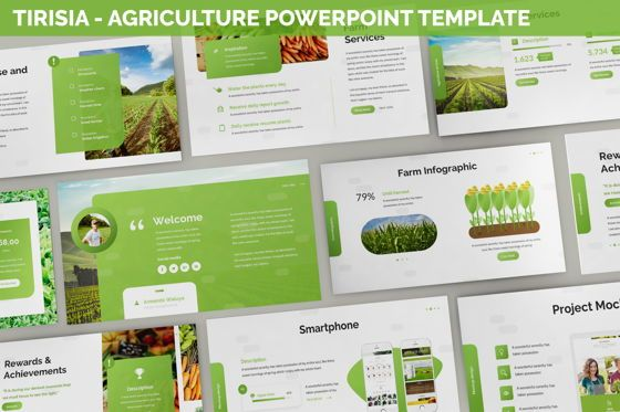 Business Models: Tirisia - Agriculture Powerpoint Template #06255