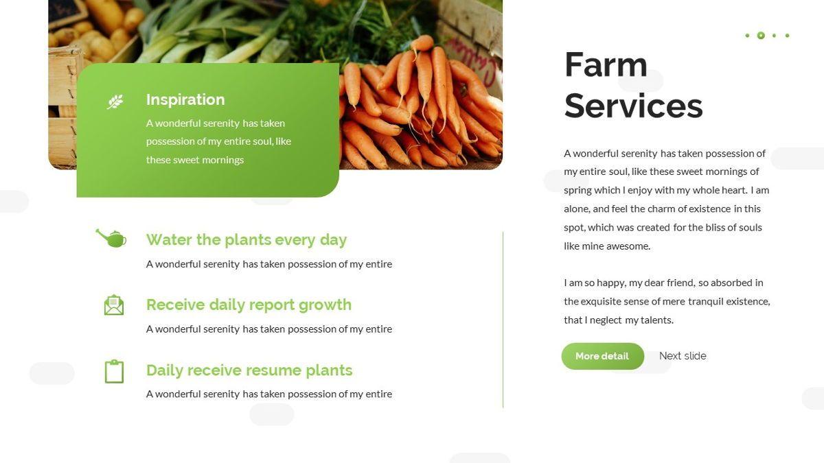 Tirisia - Agriculture Powerpoint Template, Slide 11, 06255, Business Models — PoweredTemplate.com