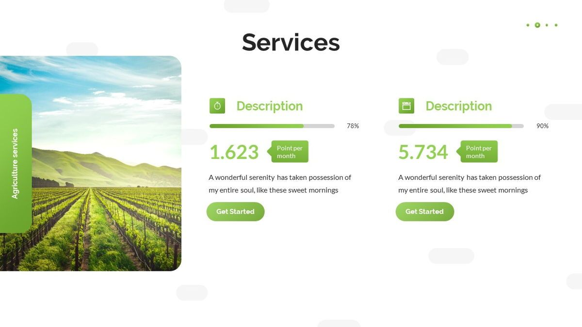 Tirisia - Agriculture Powerpoint Template, Slide 12, 06255, Business Models — PoweredTemplate.com
