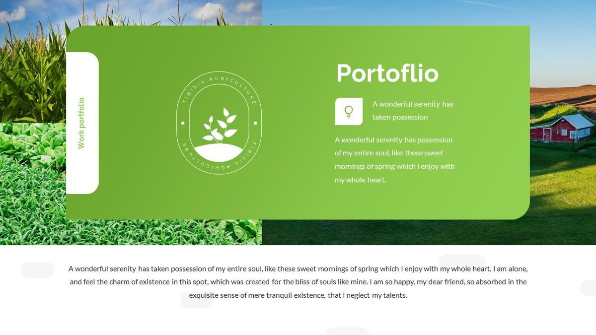 Tirisia - Agriculture Powerpoint Template, Slide 17, 06255, Business Models — PoweredTemplate.com