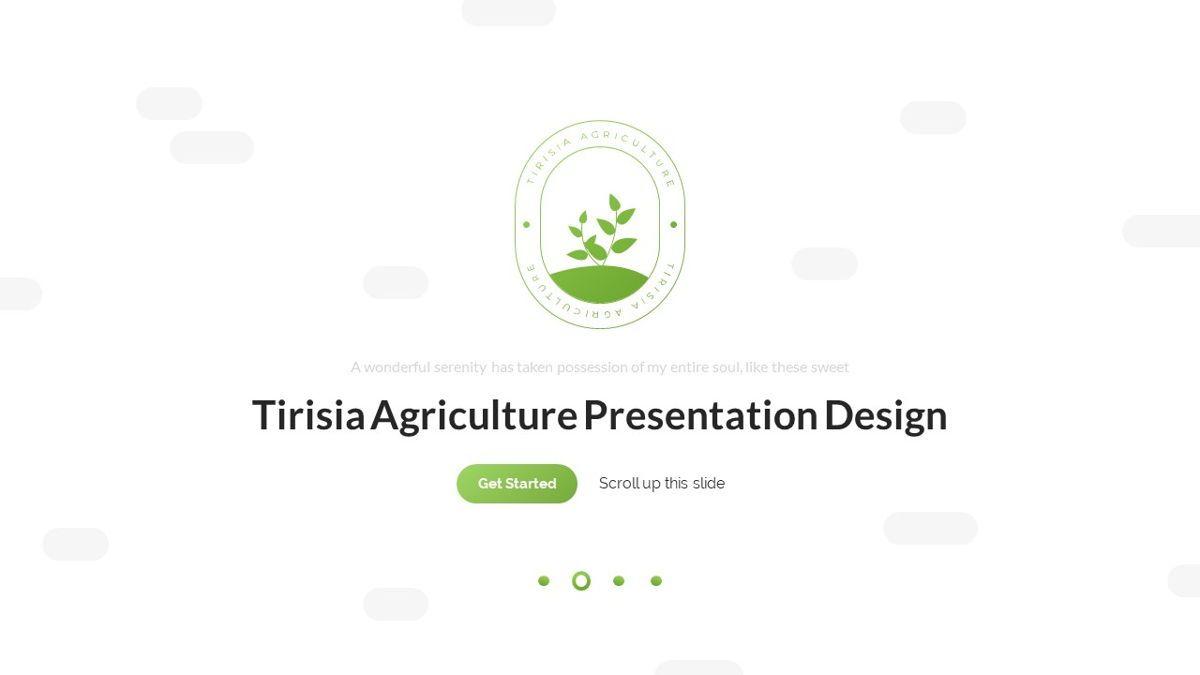 Tirisia - Agriculture Powerpoint Template, Slide 2, 06255, Business Models — PoweredTemplate.com