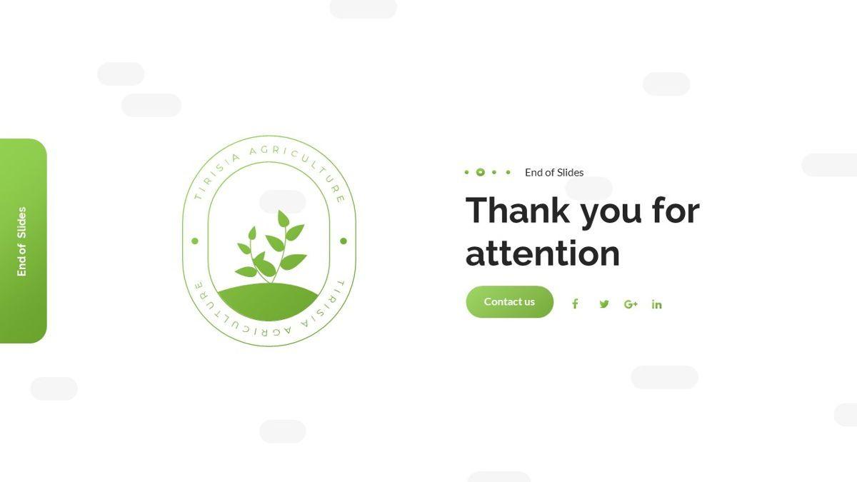 Tirisia - Agriculture Powerpoint Template, Slide 31, 06255, Business Models — PoweredTemplate.com
