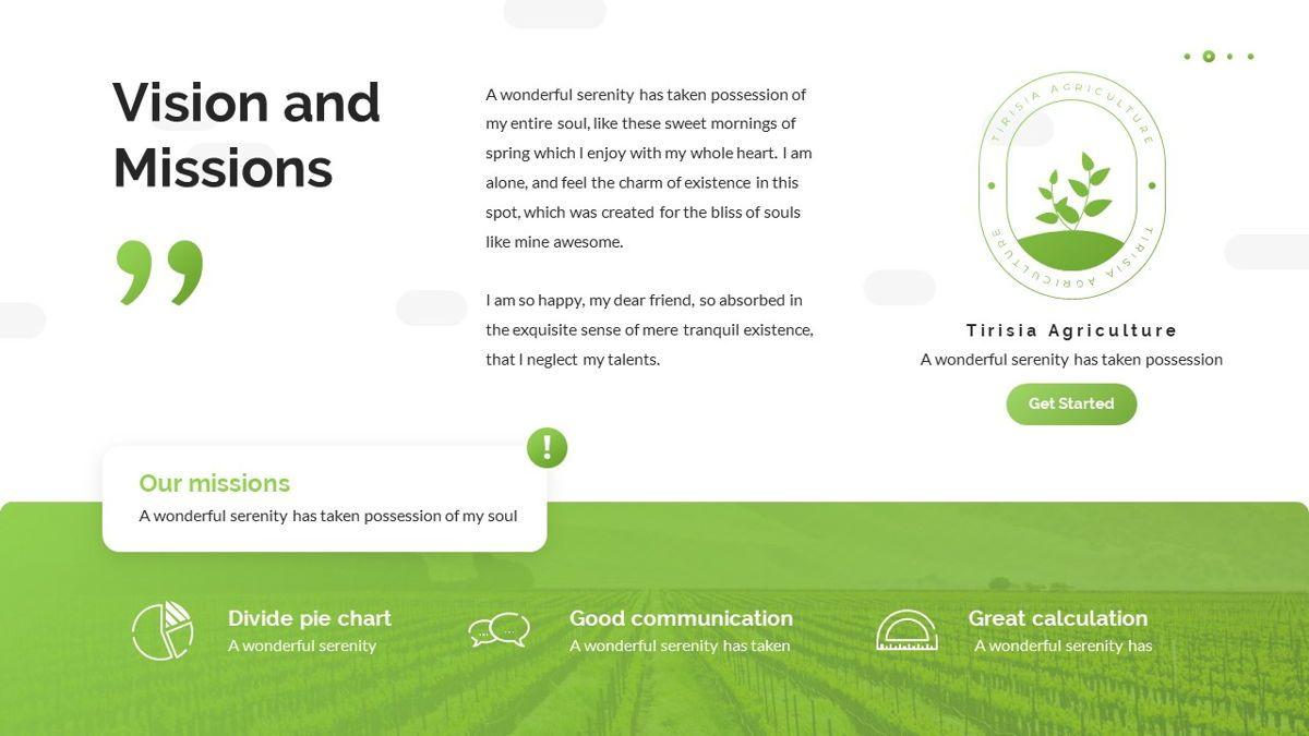 Tirisia - Agriculture Powerpoint Template, Slide 7, 06255, Business Models — PoweredTemplate.com