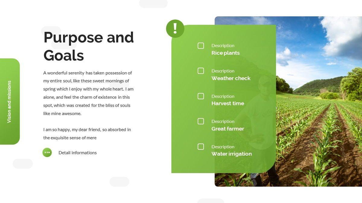 Tirisia - Agriculture Powerpoint Template, Slide 8, 06255, Business Models — PoweredTemplate.com