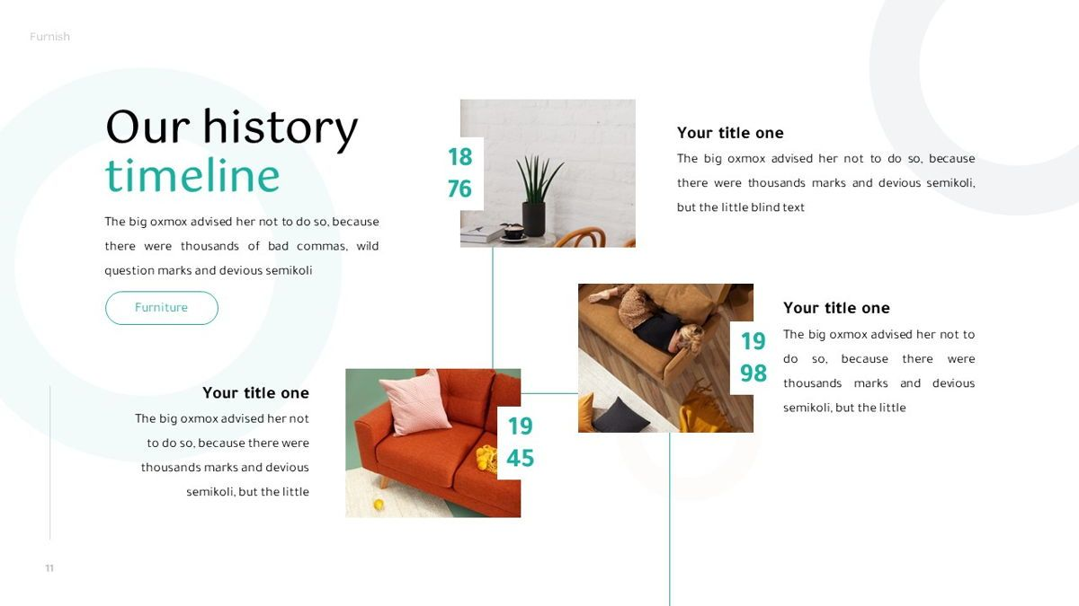 Furnish - Furniture Powerpoint Template, Slide 12, 06256, Business Models — PoweredTemplate.com