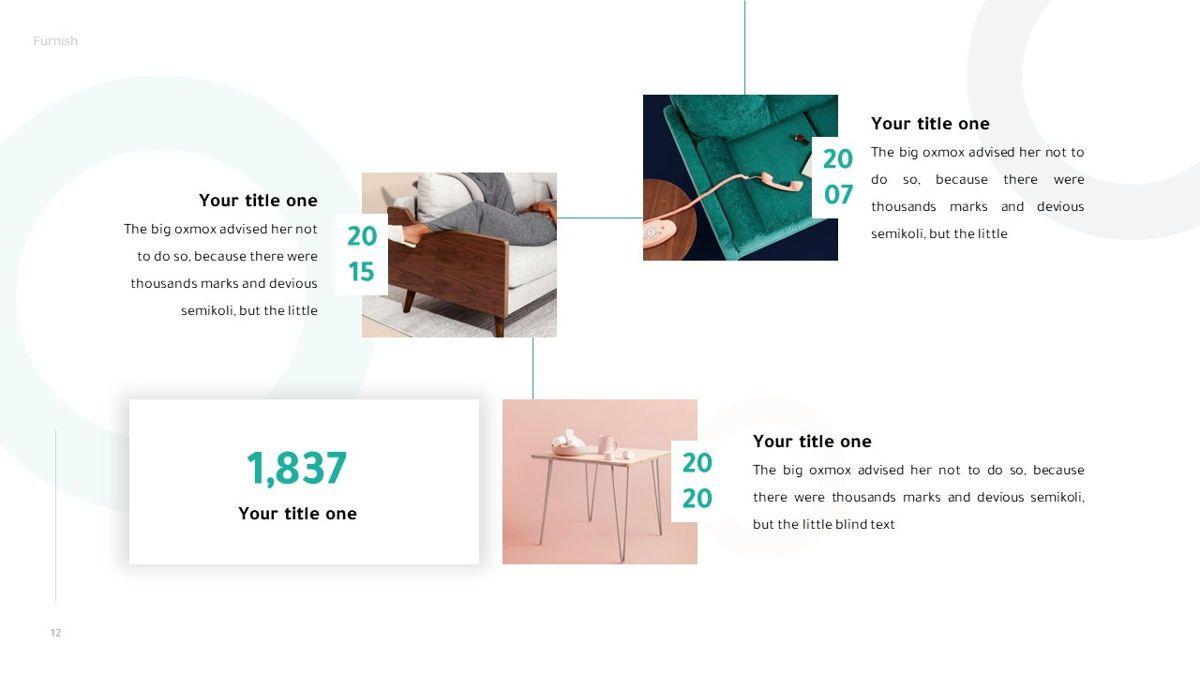 Furnish - Furniture Powerpoint Template, Slide 13, 06256, Business Models — PoweredTemplate.com