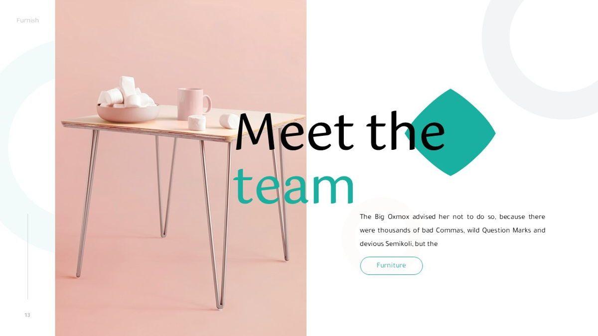 Furnish - Furniture Powerpoint Template, Slide 14, 06256, Business Models — PoweredTemplate.com