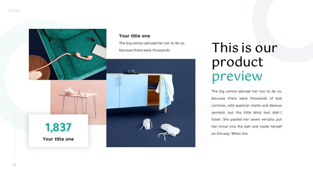 Furnish - Furniture Powerpoint Template, Slide 19, 06256, Business Models — PoweredTemplate.com