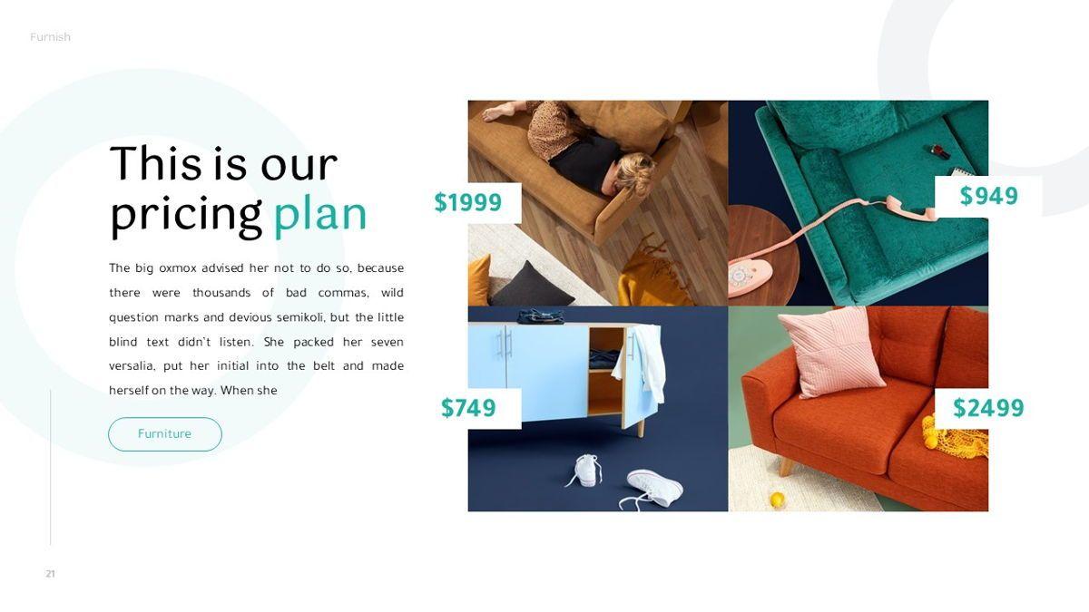 Furnish - Furniture Powerpoint Template, Slide 22, 06256, Business Models — PoweredTemplate.com