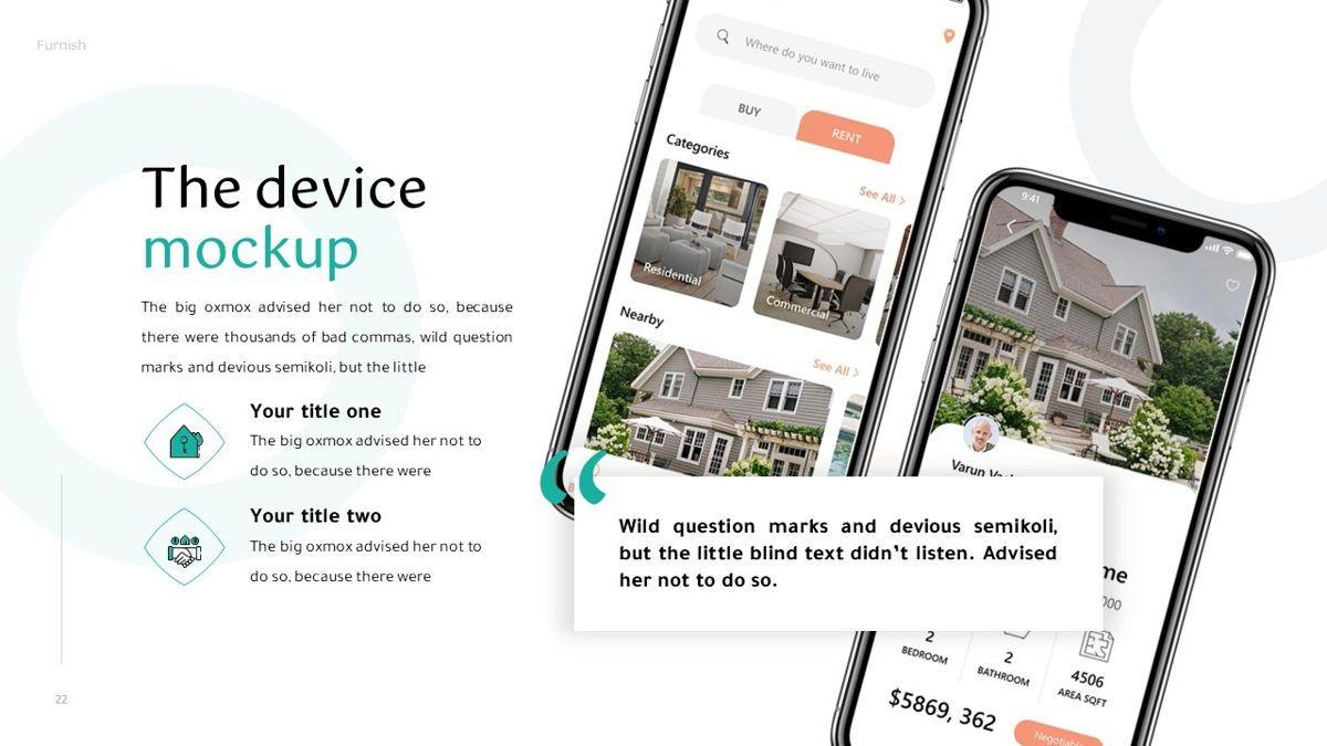 Furnish - Furniture Powerpoint Template, Slide 23, 06256, Business Models — PoweredTemplate.com