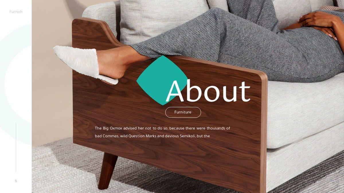 Furnish - Furniture Powerpoint Template, Slide 6, 06256, Business Models — PoweredTemplate.com