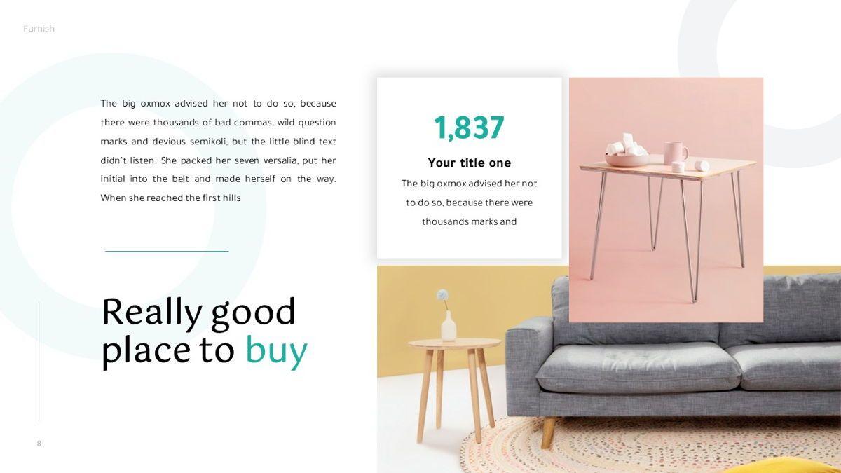 Furnish - Furniture Powerpoint Template, Slide 9, 06256, Business Models — PoweredTemplate.com
