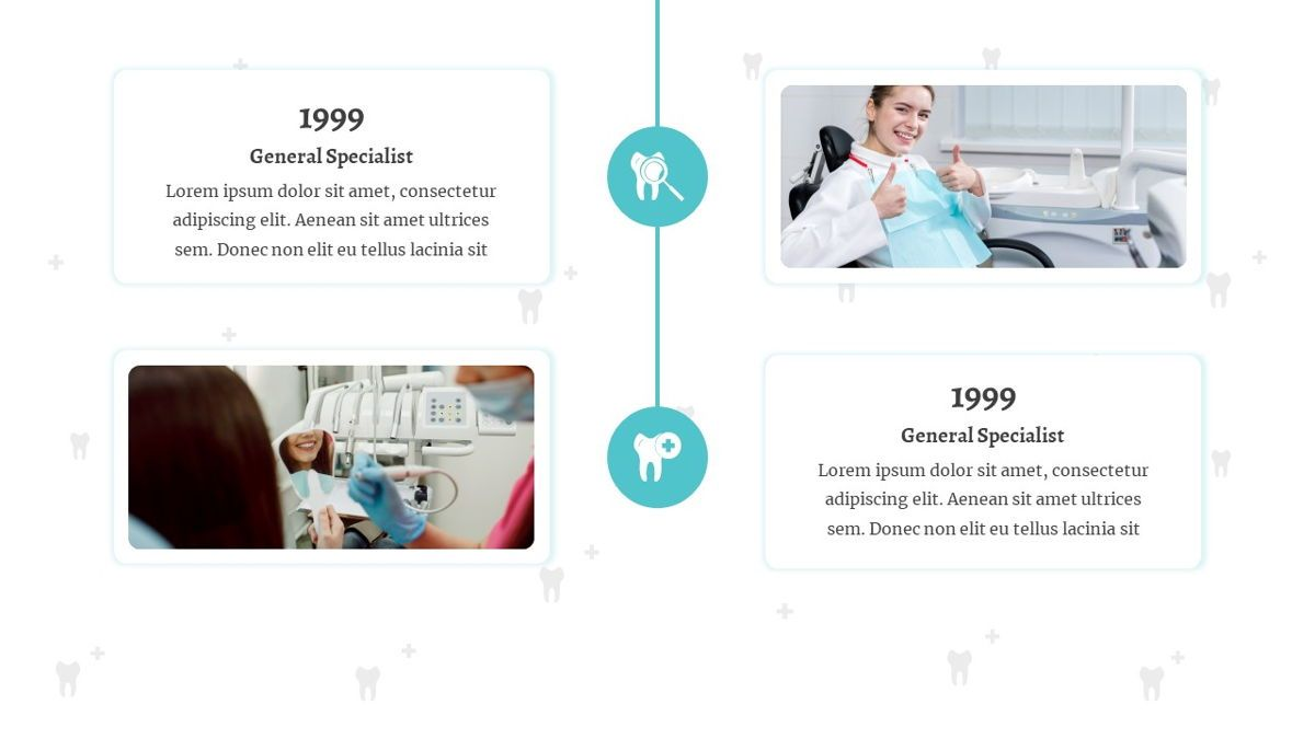 SmileDent - Dentist Powerpoint Template, Slide 10, 06260, Data Driven Diagrams and Charts — PoweredTemplate.com