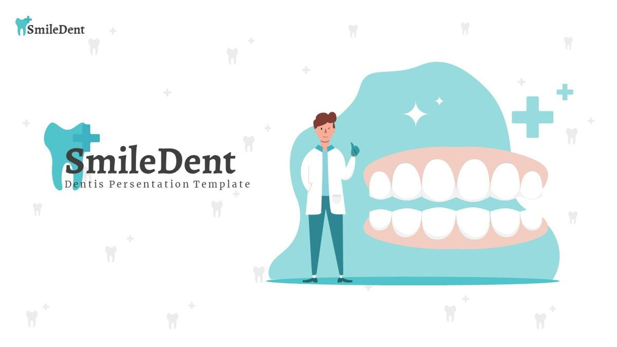 SmileDent - Dentist Powerpoint Template, Slide 2, 06260, Data Driven Diagrams and Charts — PoweredTemplate.com