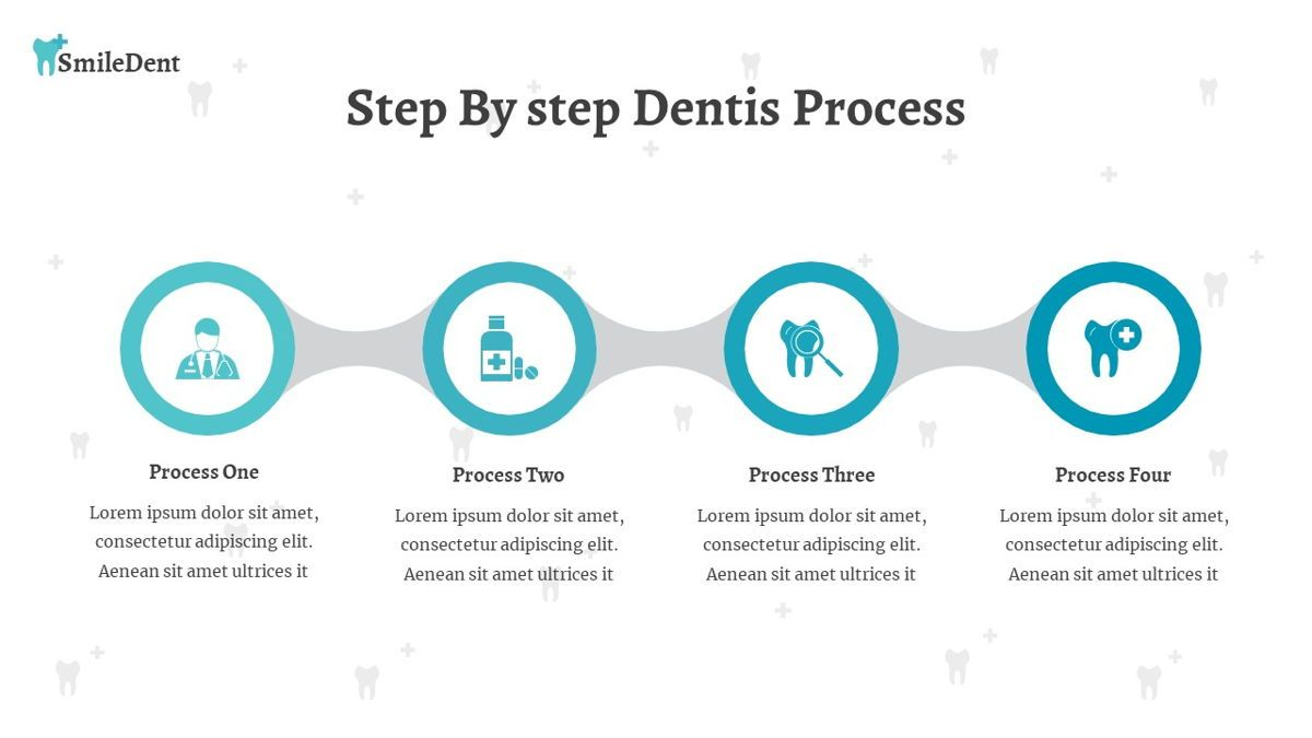 SmileDent - Dentist Powerpoint Template, Slide 24, 06260, Data Driven Diagrams and Charts — PoweredTemplate.com