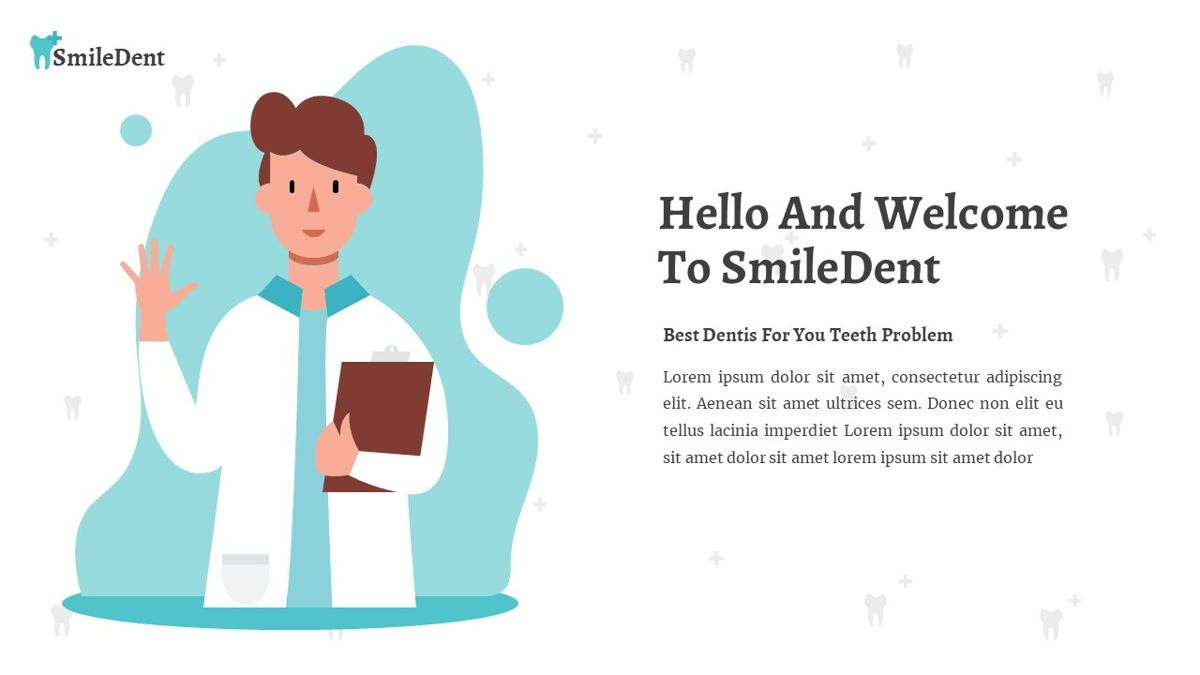 SmileDent - Dentist Powerpoint Template, Slide 3, 06260, Data Driven Diagrams and Charts — PoweredTemplate.com