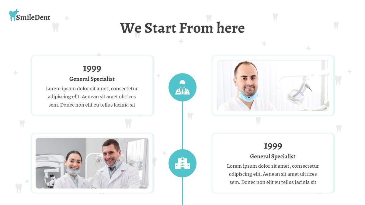 SmileDent - Dentist Powerpoint Template, Slide 9, 06260, Data Driven Diagrams and Charts — PoweredTemplate.com