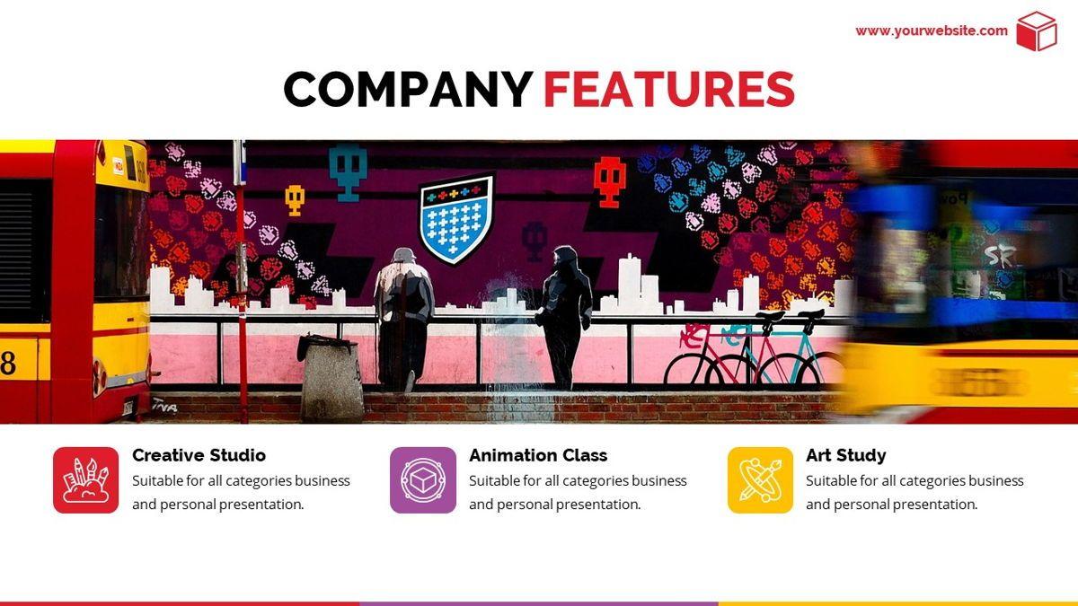 Pandora - Colorful Powerpoint Template, Folie 8, 06263, Datengetriebene Diagramme und Charts — PoweredTemplate.com