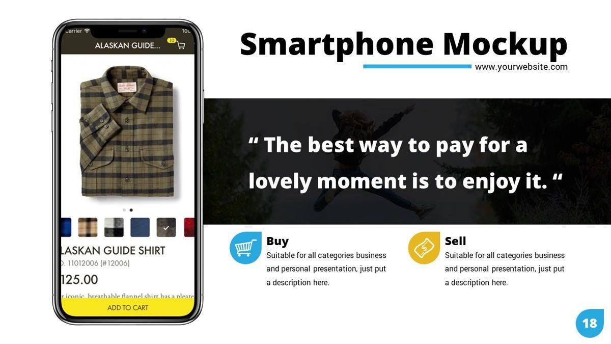 Shoppy - Ecommerce Powerpoint Template, Slide 19, 06264, Business Models — PoweredTemplate.com