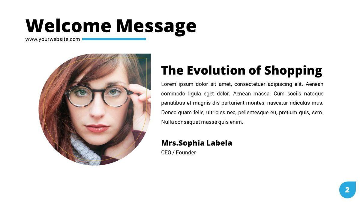 Shoppy - Ecommerce Powerpoint Template, Slide 3, 06264, Business Models — PoweredTemplate.com