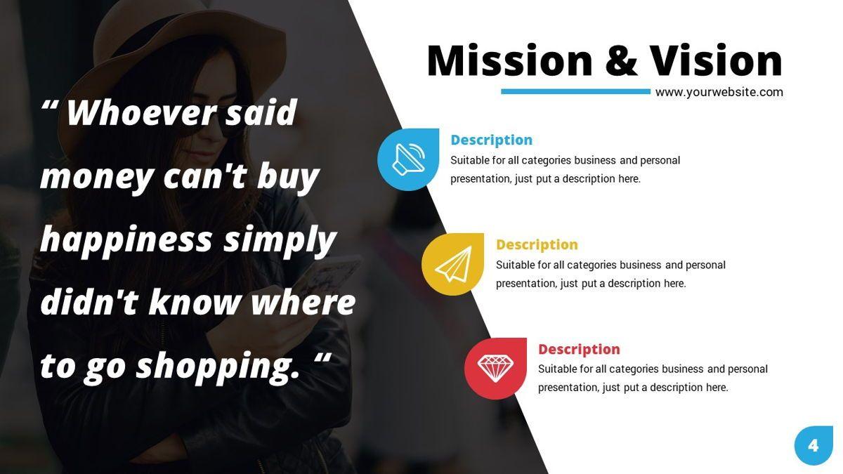 Shoppy - Ecommerce Powerpoint Template, Slide 5, 06264, Business Models — PoweredTemplate.com